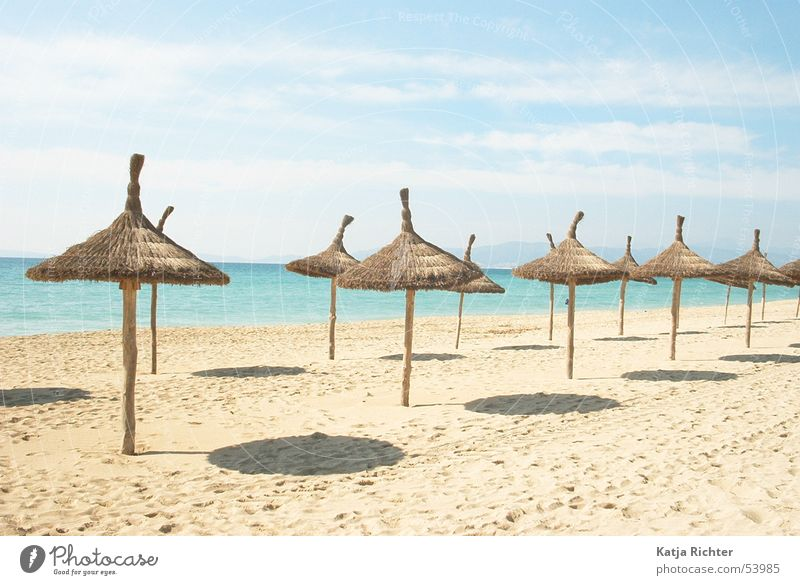 Los Strandos Beach Majorca Ocean Spain Sun