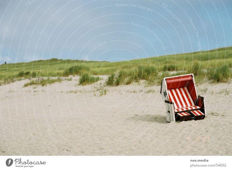Ocean Beach Sand Beach dune Beach chair Sylt