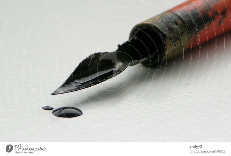 Hand Old Beautiful Black Colour Line Art Dirty Wet Lie Characters Feather Letters (alphabet) Write Point Fluid