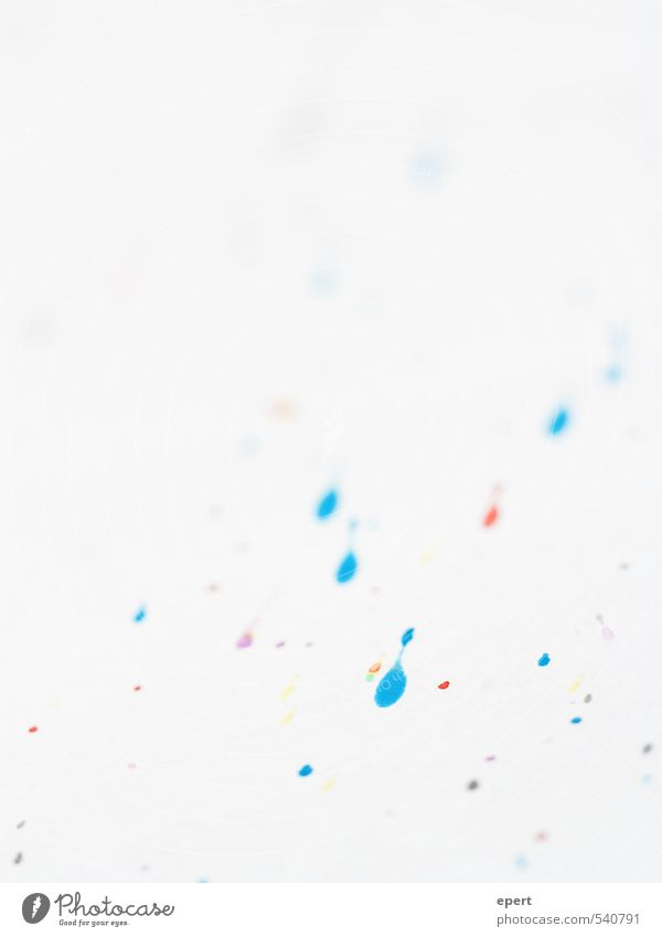Art recycled Leisure and hobbies Dye Paper Daub Patch of colour Inject Watercolor Make Draw Esthetic Simple Happiness Uniqueness Multicoloured Joy Inspiration