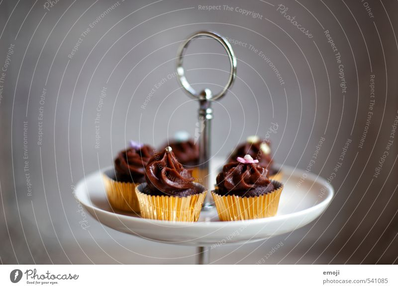 Gray Brown Nutrition Sweet Candy Delicious Cake Chocolate Picnic Dessert Finger food Slow food Cupcake Rich in calories