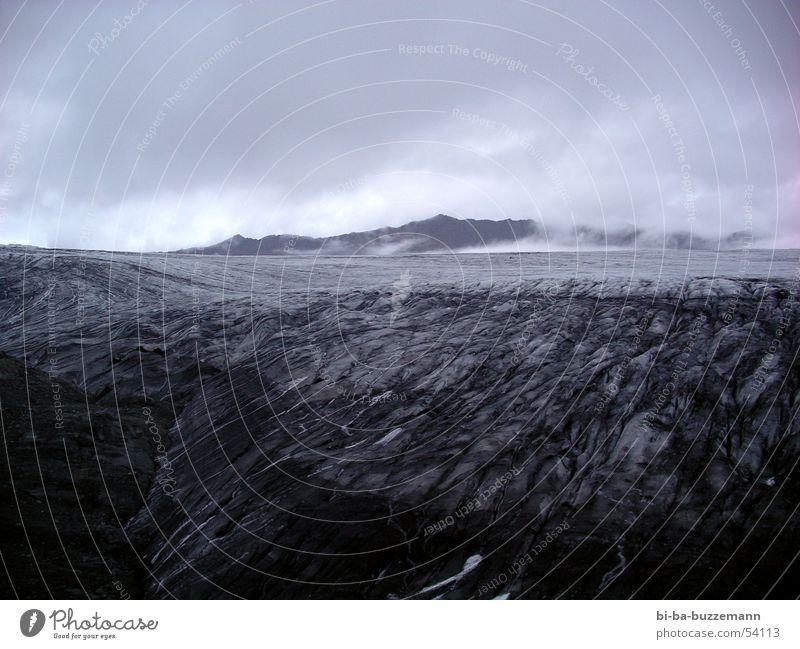 Black Clouds Dark Cold Mountain Warmth Iceland Eerie Volcano Lava