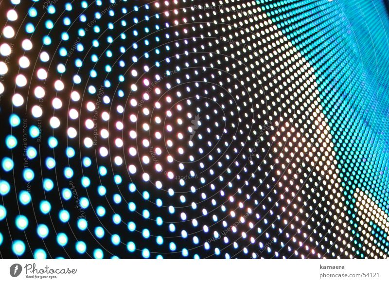 Point Screen Mosaic LCD