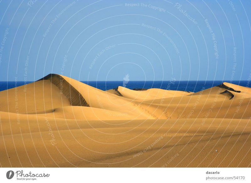 Desert Beach dune Sahara