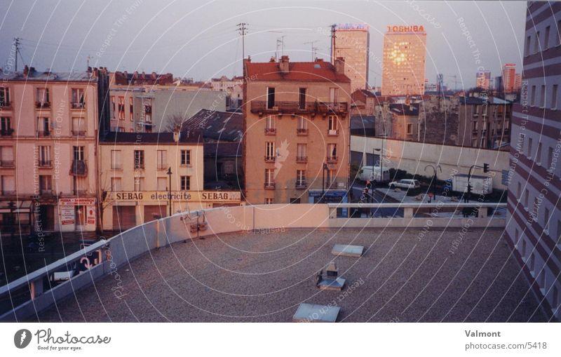 House (Residential Structure) Architecture Paris France Suburb