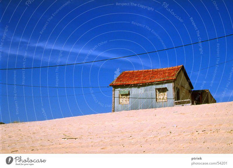 Beach Sand Country house Blue sky Minimal Lisbon Cottage