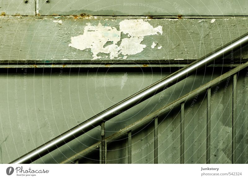 City Green Cold Berlin Gray Metal Stairs Gloomy Esthetic Concrete Transience Decline Rust Downtown Steel Underground