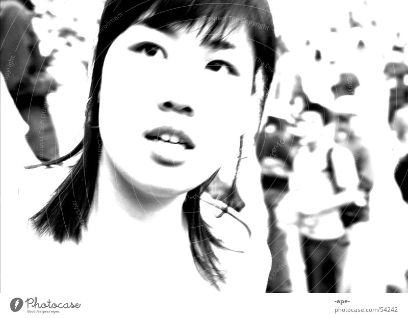 ipsilenti Expectation Beautiful Enchanting Romp Applause Loud Song Together Asia Korea China Japan Future Pure Exterior shot Human being Portrait photograph
