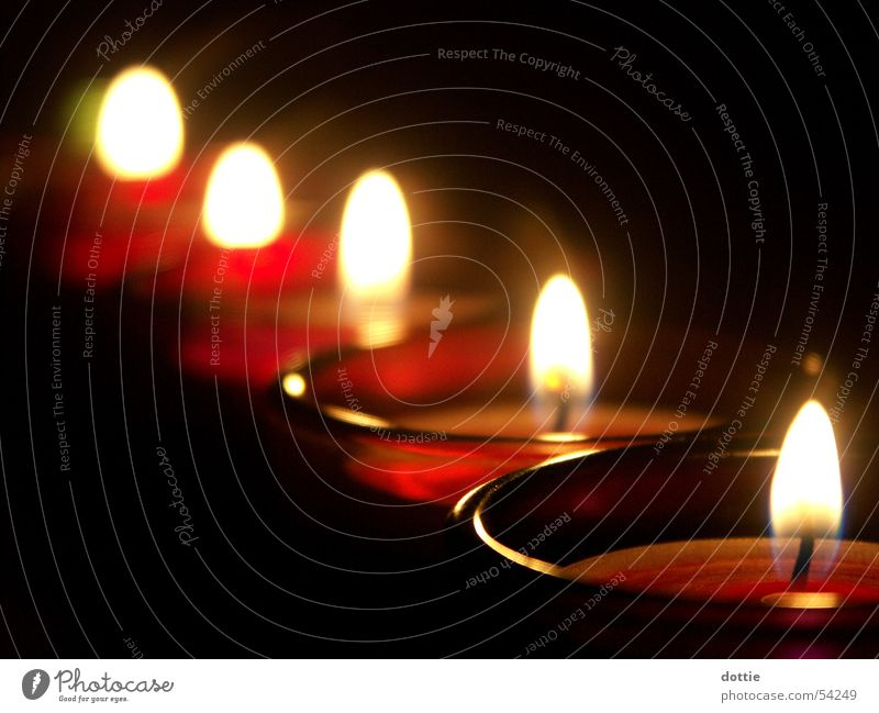 Dark Bright Blaze Candle Romance Tea warmer candle