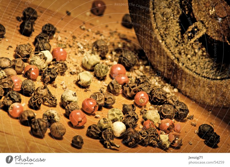 Cooking & Baking Kitchen Tangy Herbs and spices Mince Pepper Mill Ingredients Peppercorn Pepper mill