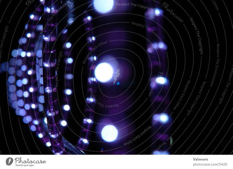 blue vertebra Light Fairy lights Tube light Photographic technology Blue Lighting