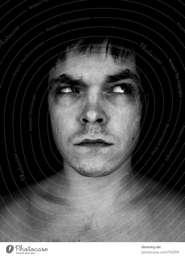 Man White Black Face Eyes Death Dark Hair and hairstyles Brown Mouth Skin Nose Broken Wing Facial expression Eyelash