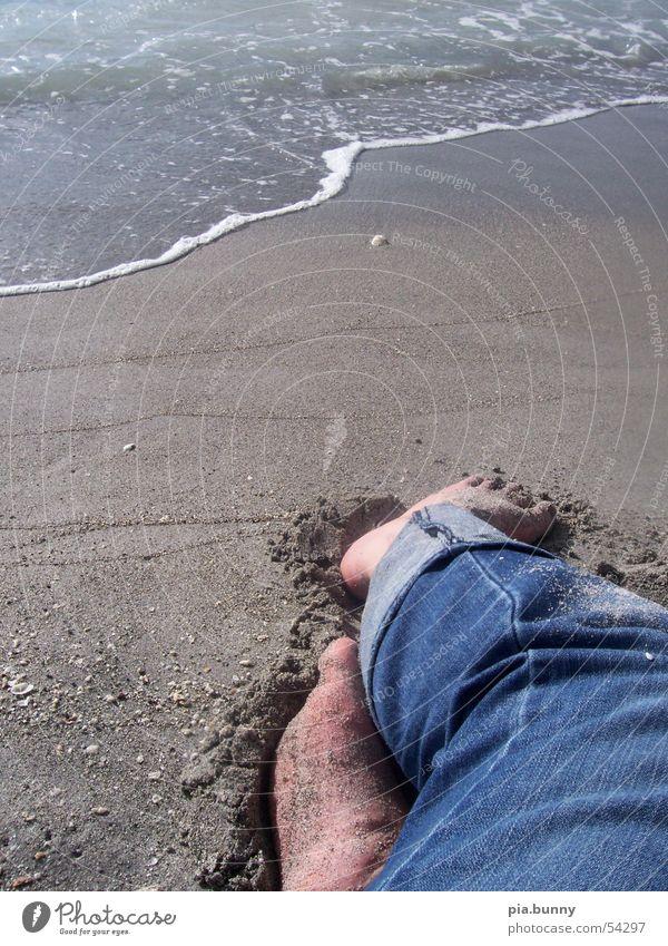 relaxing Beach Ocean Florida Venice Feet Water