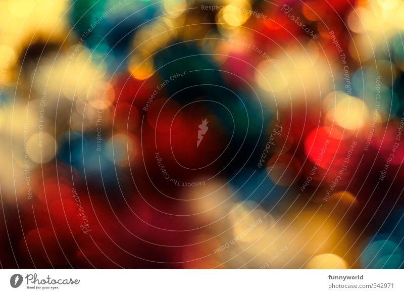 Blue White Colour Red Joy Happy Party Art Dream Moody Gold Glittering Illuminate Happiness Round Joie de vivre (Vitality)