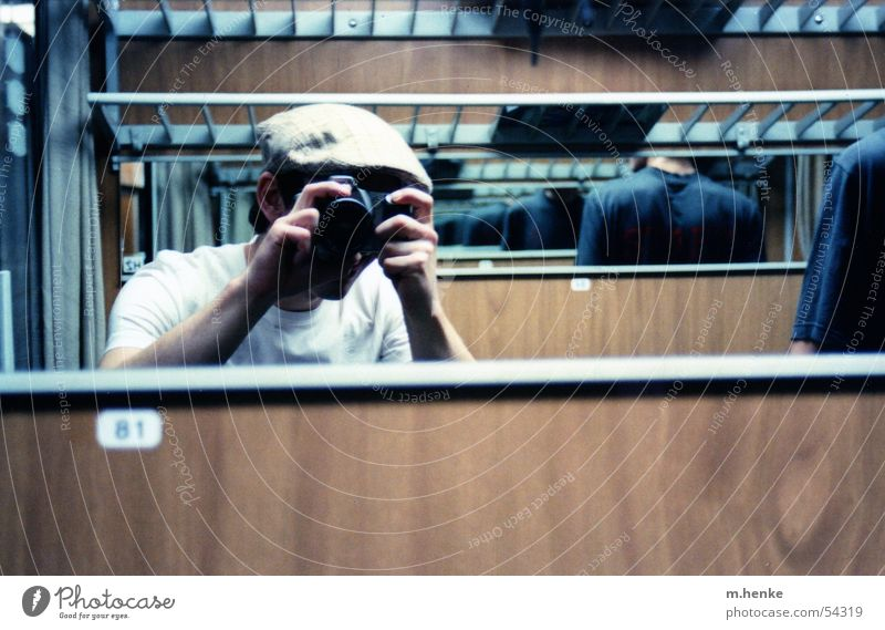 Joy Vacation & Travel Friendship Photography Railroad Mirror Wanderlust In transit Train compartment