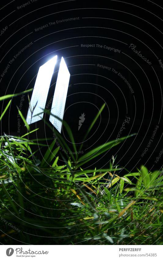 lighthouse Lamp Light Grass Garden Bed (Horticulture) Night Dark Meadow Worm's-eye view Sky