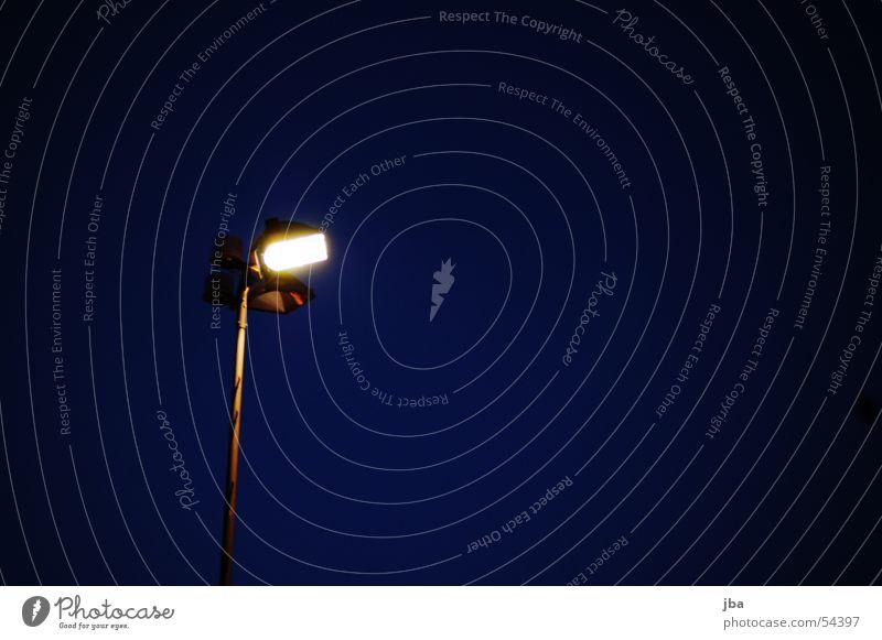 Blue Black Lamp Lighting Lantern Iron Floodlight