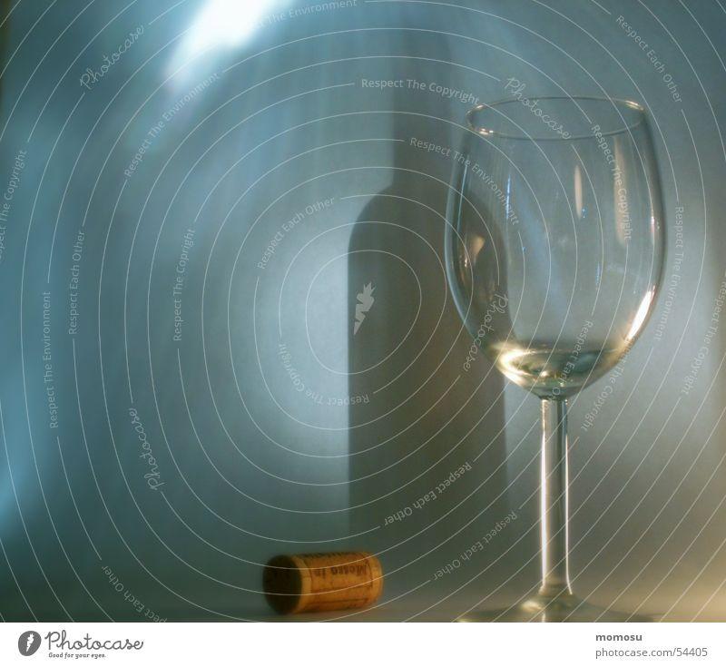 shadow fraud Light Cork Glass Bottle Shadow Lighting Wine
