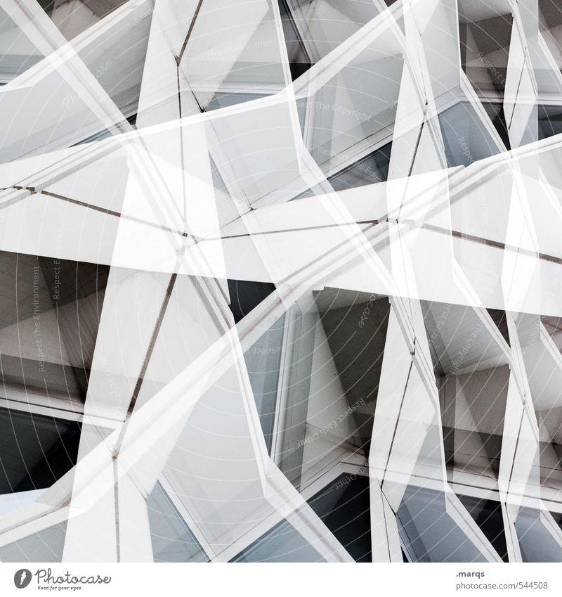 White Lifestyle Architecture Style Building Art Exceptional Facade Design Bright Line Modern Elegant Crazy Perspective Future