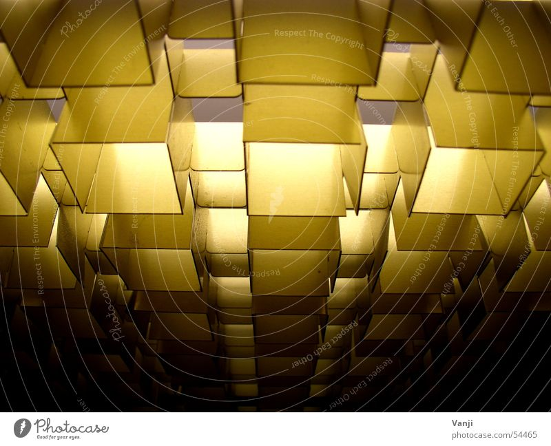 Blasting II Ceiling Elevator Light Lighting Pattern Retro Mask Structures and shapes