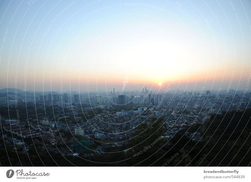 City House (Residential Structure) Far-off places Horizon Asia Capital city Seoul South Korea