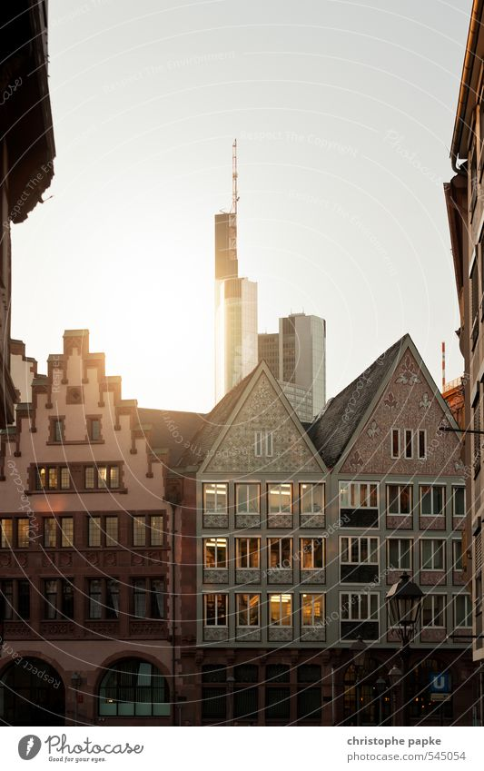 Old City Architecture Building Germany Glittering High-rise Tall Change Financial institution Manmade structures Skyline Landmark Downtown Luxury Trade