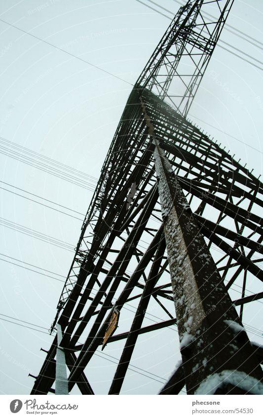 Sky Blue Energy industry Electricity Electricity pylon