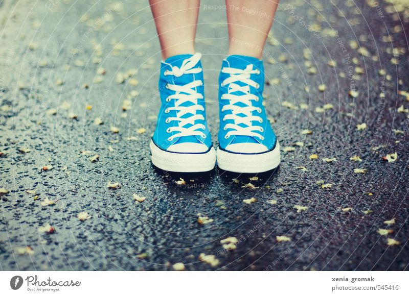 Human being Blue City Summer Life Autumn Spring Feet Rain Footwear Free Modern Stand Hiking Beautiful weather Wet