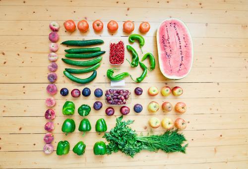 fruit season Food Vegetable Lettuce Salad Fruit Apple Nutrition Organic produce Vegetarian diet Diet Fasting Nature Blossoming Shopping Eating Fitness To enjoy