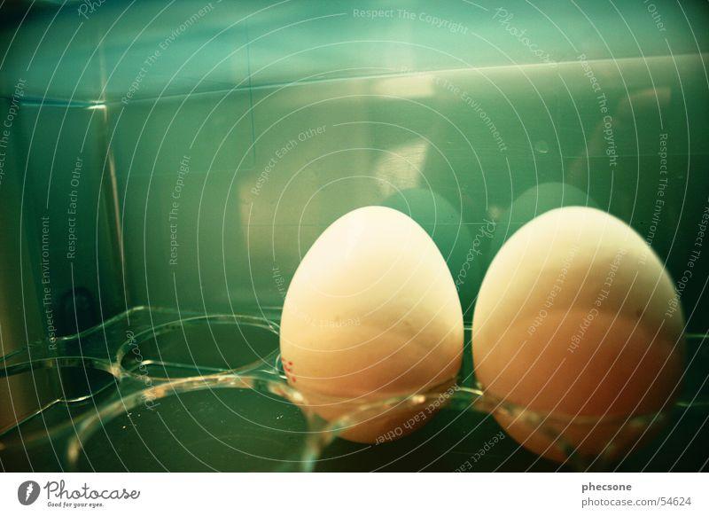 Green Breakfast Egg Icebox