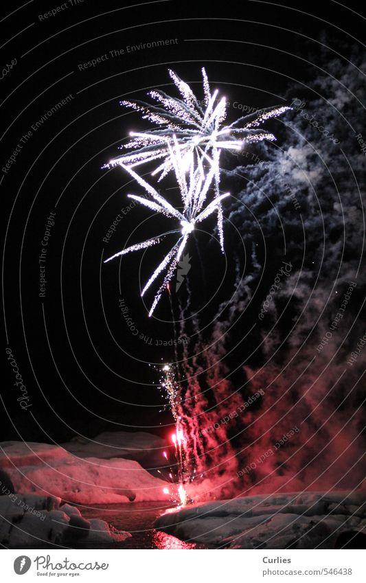 Vacation & Travel White Water Ocean Red Black Dark Snow Lake Feasts & Celebrations Ice Illuminate Adventure Fire New Year's Eve Smoke