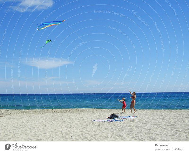 summersaults Exterior shot Girl Beach Ocean Clouds Bikini Summer Dragon Sky Sand Wind