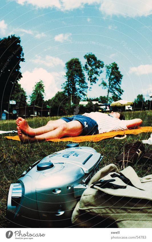 Sky Sun Summer Beach Relaxation Meadow Lake Lie Radio (broadcasting)