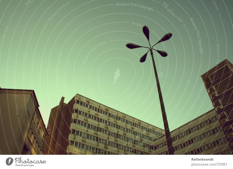 City Calm House (Residential Structure) Cold Berlin High-rise Time Tall Lantern Narrow Canyon