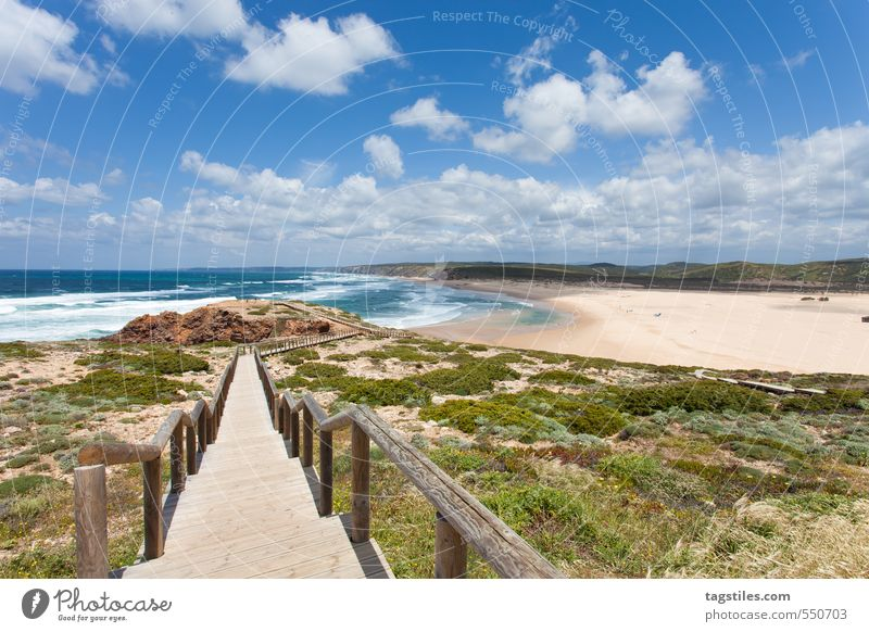 PRAIA DA BORDEIRA Portugal Algarve Praia da Bordeira praia Bridge rock salt Vacation & Travel Travel photography Idyll Card Tourism Paradise Heavenly