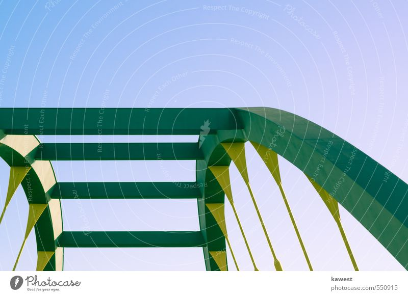 arch Arched bridge Bridge Bridge railing Crossbeam Steel processing Steel carrier Bridge construction Steel construction Construction engineering Tension