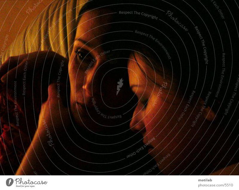 Woman Human being Love Dream Harmonious Dreamily Peaceful