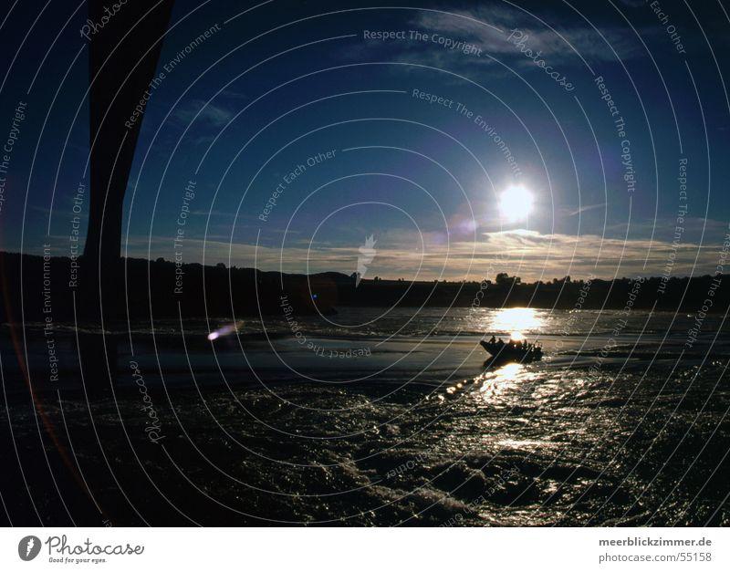 Sun Summer Playing Death Watercraft Fear Force Bridge Norway Mahlstrom Saltstraumen
