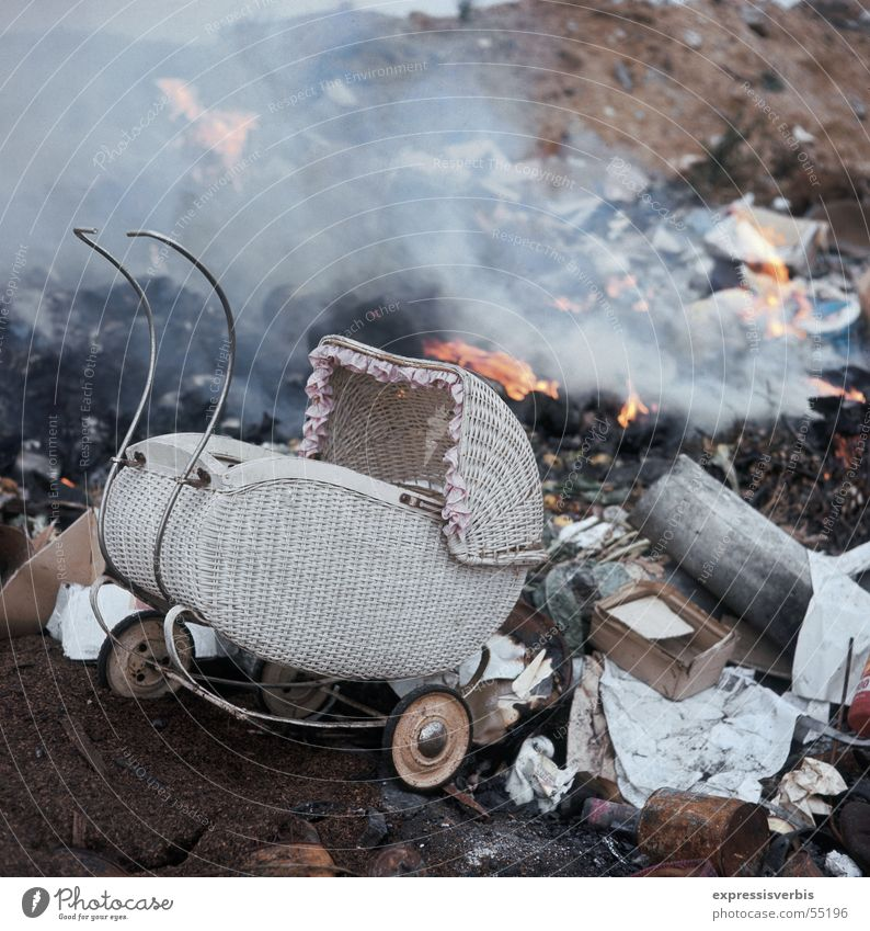 Garbage dump Affluent society
