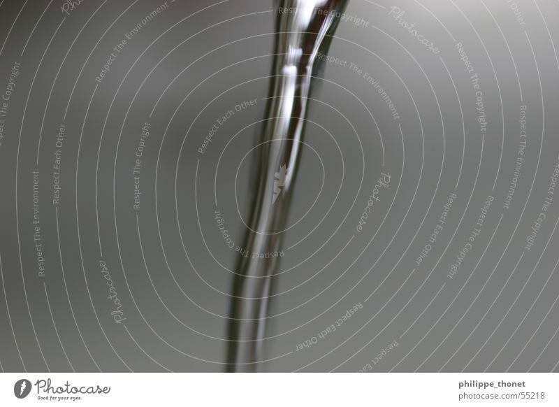H2O follows gravity Water Gray Fluid Transparent Wet Macro (Extreme close-up)