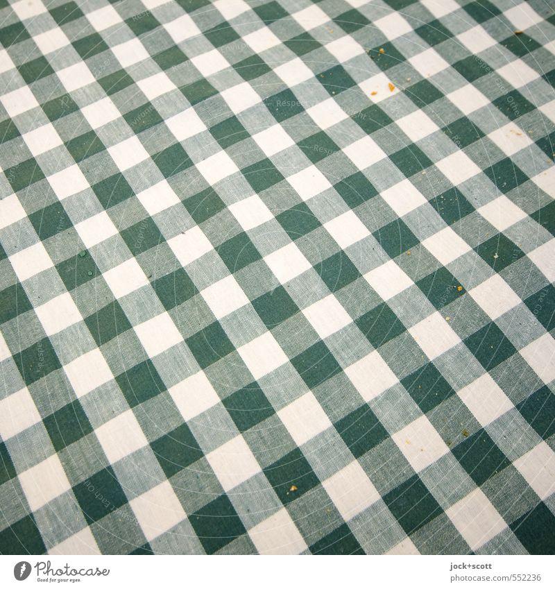 Green White Style Small Line Lie Dirty Arrangement Decoration Authentic Esthetic Nutrition Simple Stripe Clean Culture