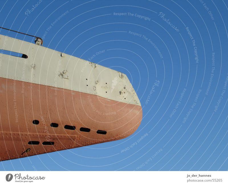 submarine Sky ship boat blue red grey