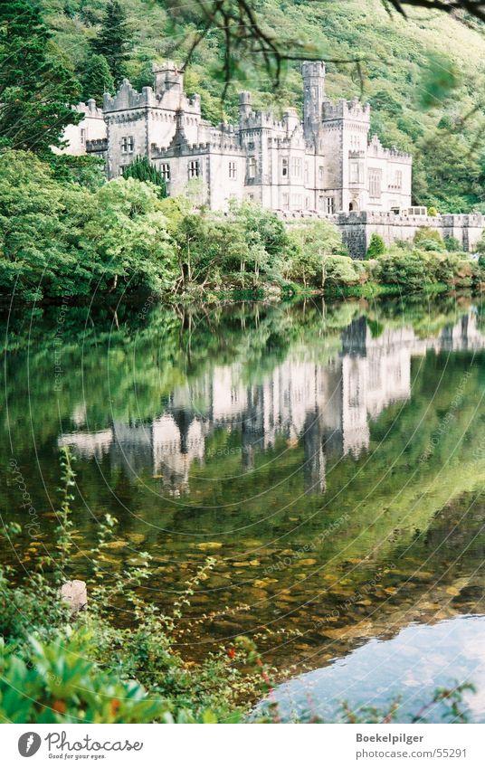 Nature Water Green Lake Trip Tourism Castle Ireland Connemara Kylemore Abbey
