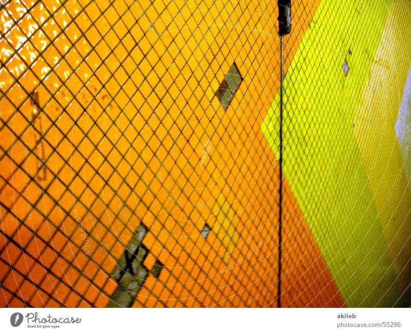Green Wall (building) Orange Poverty Broken Tile Arrow Tunnel Underground Hollow