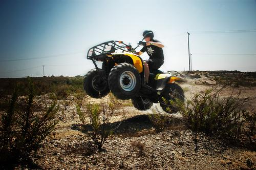 Sky Sun Blue Yellow Jump Sand Air Speed Dangerous Lawn Threat Desert Motorcycle Accident Greece Helmet