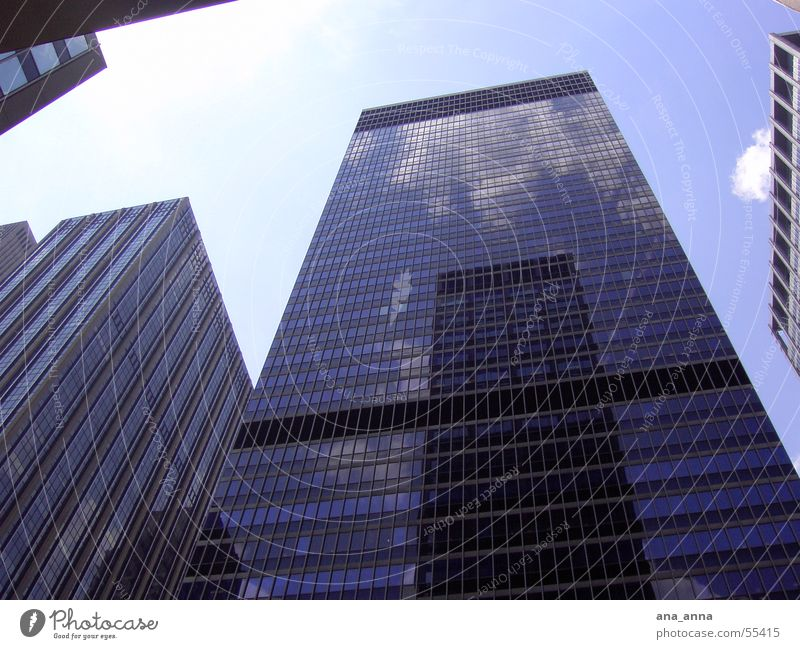 Sky Blue City House (Residential Structure) Clouds Street Work and employment Window Building Air Business Power Architecture Glass Flying Large