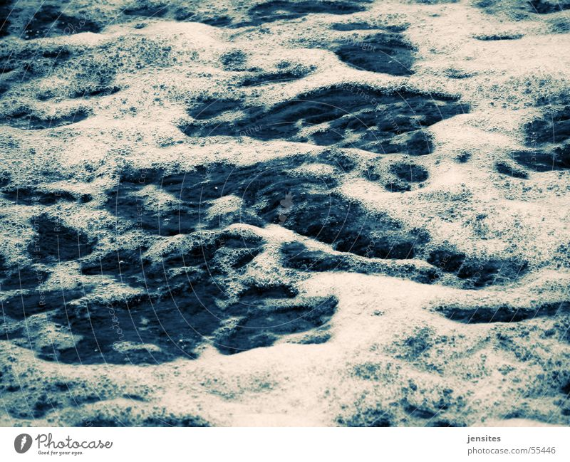 Nature Water White Ocean Blue Calm Baltic Sea Foam