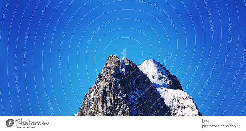 Sky Blue Winter Snow Mountain Stone Graffiti Rock Clarity Point Progress Steep