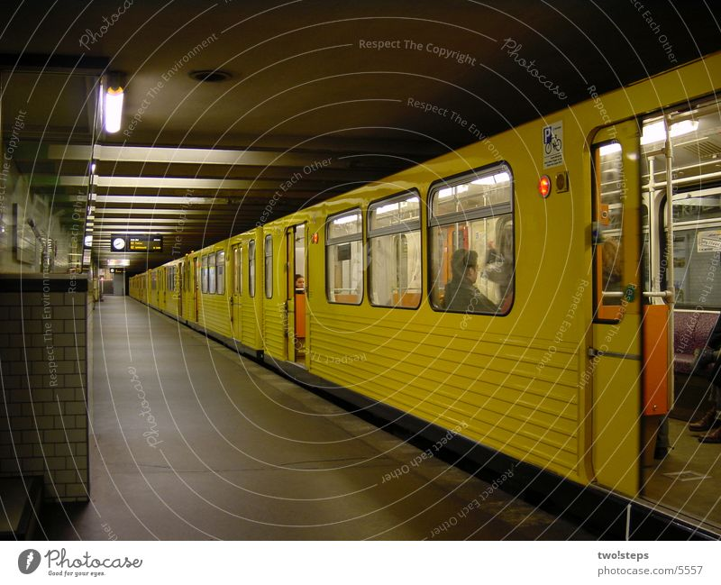 Subway Kaiserdamm Underground Mobility imperial embankment wagon