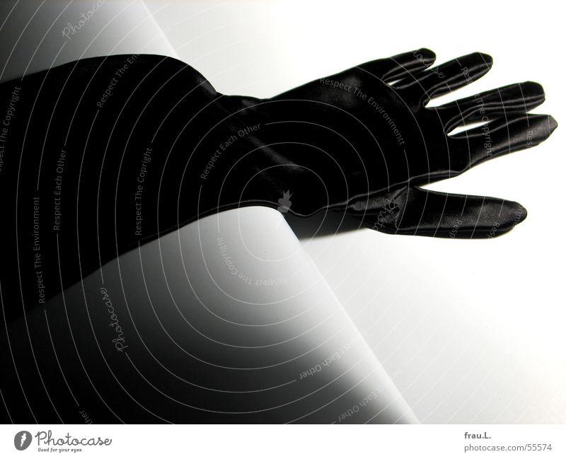 Black Feminine Feasts & Celebrations Elegant Clothing Club Luxury Gloves Going out Gala Satin Evening wear